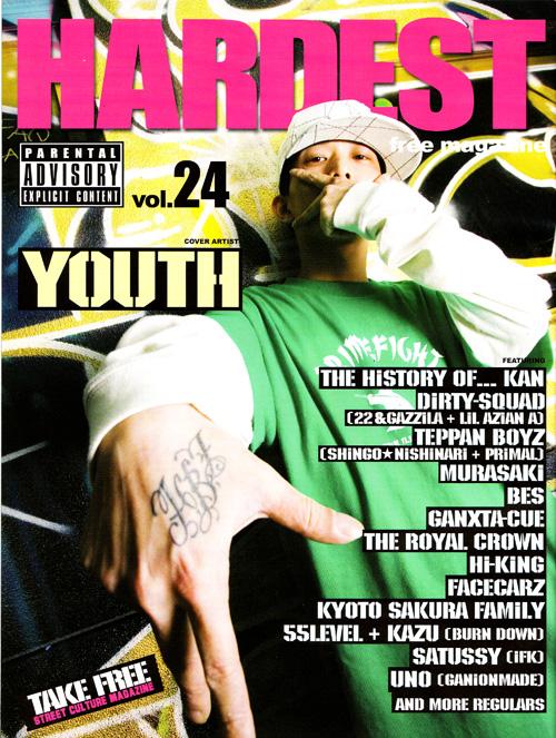 HARDEST。 youth